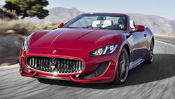 Location Maserati Grancabrio