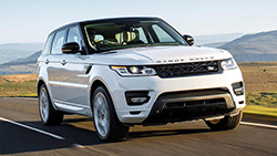 Location Range Rover Sport Supercharged